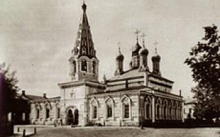 Церковь святой наталии. Церковь адриана и наталии в мещанской слободе
