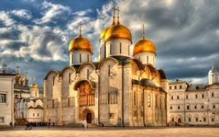 Когда был построен успенский собор. Московский успенский собор