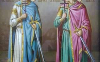Князь глеб муромский. История святых благоверных князя бориса и глеба
