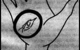 Ведьмин треугольник на руке где находится. Ведьмин знак на руке: как распознать настоящую ведьму