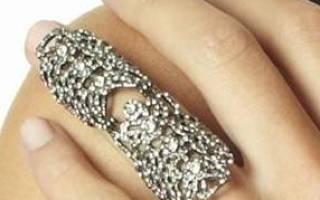 Что означает накрашенный безымянный палец. Вычисление надо проводить так