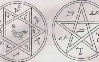 Символ венеры. Обряд очищения материала