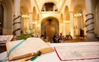Приметы если пришлось помогать в церкви. Венчание и суеверия
