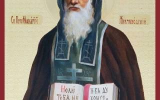 Святой макарий желтоводский о чем молятся. Житие преп