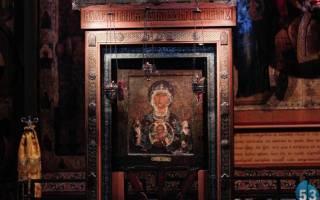 Икона «Знамение Божией Матери», значение у православных. Тропарь Пресвятой Богородице пред иконой Ея «Знамение» Абалацкая