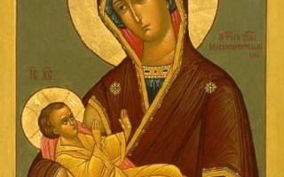 """Где находится чудотворная икона млекопитательница. Икона Божией Матери """"Млекопитательница"""" – размышления о происхождении"""