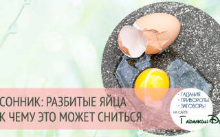 Приснилось много белых куриных яиц. Что значит видеть во сне много куриных яиц женщине и мужчине? Треснутое, разбитое яйцо