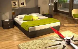 Расположение кровати по фен-шуй по сторонам света. Как должна стоять кровать в спальне по фен шуй: расположение и стороны света