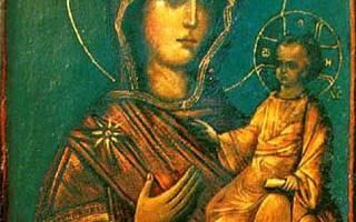 Одигитрия бай. Что такое Одигитрия? Описание иконы, ее история и значение