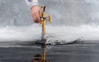 Гадание на крещение без свечей. Крещение