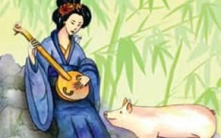 1995 год свиньи какой. Гороскоп знаки зодиака по годам, восточный календарь животных