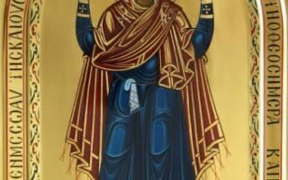 Как выглядит православная икона нерушимая стена. Икона Нерушимая Стена