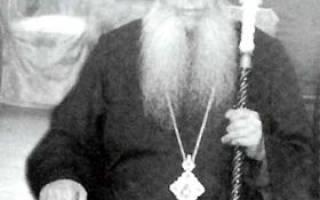 Митрополит саранский. Тбилисские старцы из Глинской пустыни