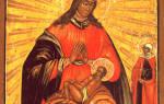 Икона балыкинской божьей матери что. Балыкинская икона молитва