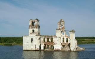 Храм буддистов ушел под воду. Удивительные затопленные церкви