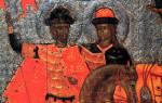 6 августа какой праздник православный. Святые благоверные князья Борис и Глеб