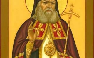 Лука крымский тропарь кондак величание. Тропари и молитва луке крымскому