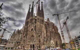 Испания фамильный собор. Саграда фамилия — величайшее творение антонио гауди, которое не могут достроить до сих пор