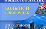 Карманный справочник по обществознанию чернышева. Обществознание