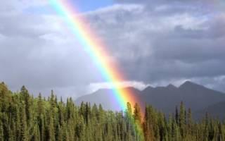 Как образуется радуга? Все про радугу как физическое явление.