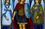 Кто ангел хранитель у михаила. Ангел хранитель архангел михаил молитва