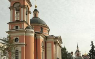 Церковь святой варвары на варварке. Храмы зарядья