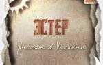 Происхождение имени эстер. Эстер – значение имени