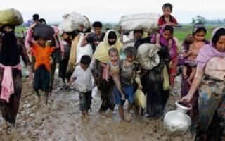 Геноцид мусульман в Мьянме (Бирме) устроили буддисты (видео).