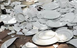 Есть из разбитой посуды примета. К чему бьется посуда — приметы и поверья