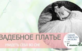 Видеть во сне себя в свадебном платье. Приснилось свадебное платье замужней женщине — нюансы толкования