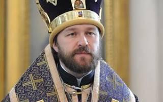 Где будет служить патриарх на этой. Митрополит Иларион о Страстной неделе