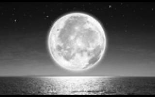 Увидеть в небе красную луну. Приметы про луну