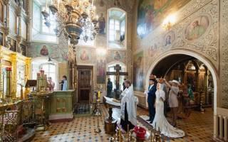 Венчают ли в понедельник. Венчание в церкви: все, что нужно знать про обряд