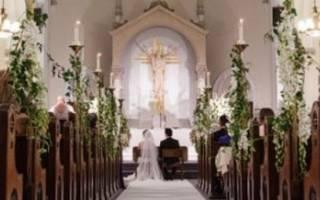Может ли католик венчаться с православной. Венчание в католической церкви: правила, как проходит, видео