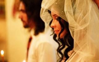 Как проходит венчание в костеле. Католическое венчание молитва