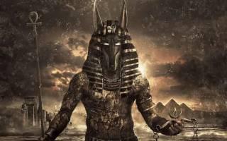 Египетский бог с головой собаки анубис. Анубис — таинственный бог древнего египта