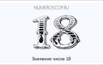 Факты о родившихся 18. Тайны чисел — восемнадцать (18)
