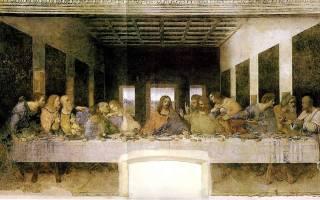 Тайная вечеря леонардо да винчи 12 апостолов. Леонардо да Винчи