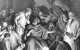 Читать библию евангелия от иоанна 18 глава. Евангелие от иоанна