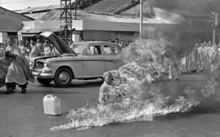 Самосожжение монаха. Самосожжение монаха глазами Малкольма Брауна (Malcolm Browne): «это был самосветящийся предмет…