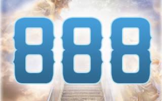 Гос номер 888 что значит. Негативное значение — излишняя амбициозность, фанатичность