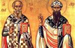 Церковный Православный праздник января. День святителей Афанасия и Кирилла, архиепископов Александрийских
