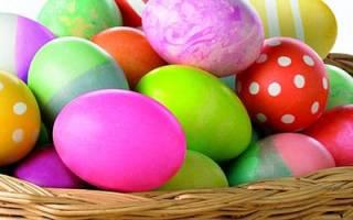 Снилось что нашла пасхальное яйцо. Крашеные яйца