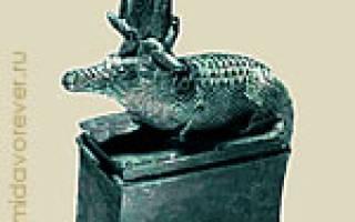 Богиня с головой крокодила. Многоликий Себек — бог воды