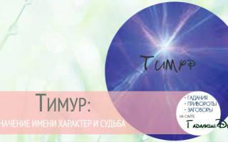 Как переводится имя тимур. Тимур — значение имени, происхождение, характеристики, гороскоп