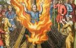 Коперника сожгли на костре. За что сожгли Джордано Бруно? Святая Орлеанская Колдунья