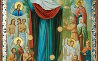История иконы всех скорбящих радость с грошиками. Икона божией матери «всех скорбящих радость