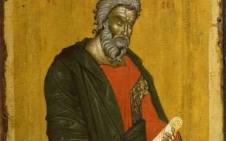 Святой апостол андрей первозванный детская книжка. Апостол Андрей Первозванный