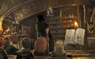 Гарри поттер гермиона варит зелье. Зелья Гарри Поттера: виды, классификация, волшебные ингредиенты и правила зельеварения, назначение и использование