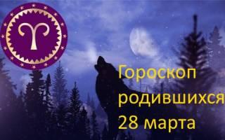 Рожденные 28 марта гороскоп.